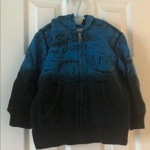 Children's Place Hooded Zip up sweater size 4T